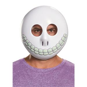 Disney Nightmare Before Christmas Blue Barrel Round Mask