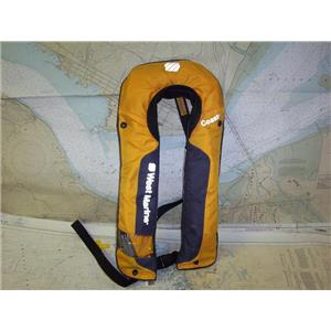 Boaters' Resale Shop of TX 1809 1472.27 WEST MARINE SP3F ADULT INFLATABLE PFD