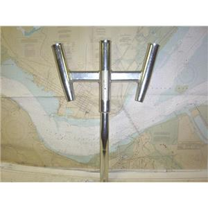 Boaters' Resale Shop of TX 1907 2275.01 TIGRESS TRIPLE ROD HOLDER ASSEMBLY