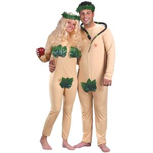 Adam and Eve Adult Costumes YOU GET BOTH COSTUMES!