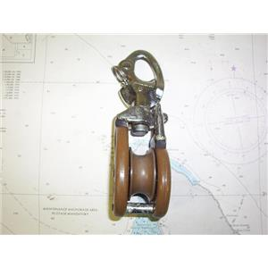"""Boaters' Resale Shop of TX 1906 0742.04 BARTON MD173 SNATCH BLOCK FOR 3/4"""" LINE"""