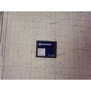Boaters' Resale Shop of TX 1903 1722.01 NAVIONICS CF/8XG ELECTRONIC CHART CARD
