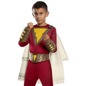 Shazam! Movie Childs Belt & Light-Up Gauntlet Set