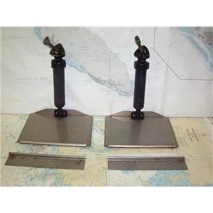 Boaters' Resale Shop of TX 1907 3271.01 PAIR OF TRIM TABS WITH ACTUATORS