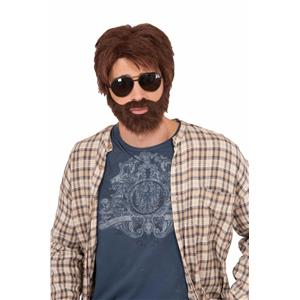Hangover Inspired Alan Vegas Hero Costume Wig and Beard