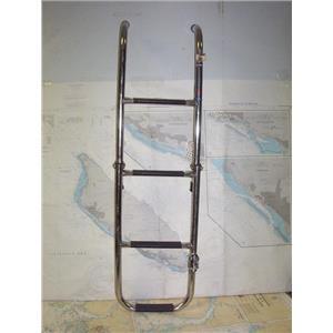 Boaters' Resale Shop of TX 1908 3501.51 WINDLINE 4 STEP FOLDING SWIM LADDER