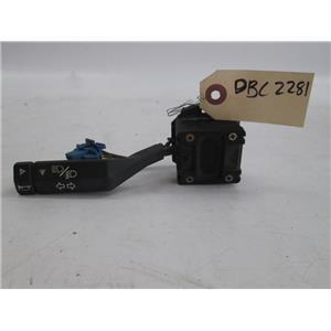 Jaguar XJ6 turn signal combination switch DBC2281