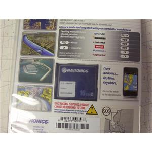 Boaters' Resale Shop of TX 1908 1124.11 NAVIONICS CF/906P+ ELECTRONIC CHART CARD