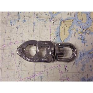 Boaters' Resale Shop of TX 1907 0742.21 TYLASKA T12 STAINLESS STEEL SNAP SHACKLE