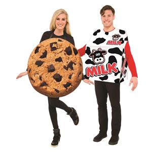 Milk and Cookie Couples Costume Set One Size