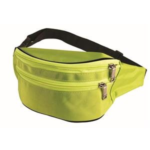 Forum Neon Green 80's Fanny Pack Waist Carrier Costume Accessory