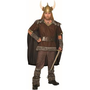 Viking Style Warrior Chief Adult Costume Standard
