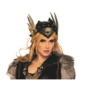 Valkyrie Viking Headpiece Hat Costume Accessory