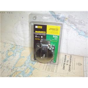 Boaters' Resale Shop of TX 1908 2477.17 MARINCO 6371EL 50 AMP 125V POWER INLET