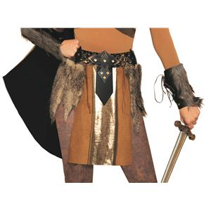 Valkyrie Viking Gold Belt Costume Accessory