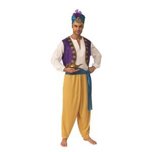 Sultan Arabian Prince Aladdin Adult Costume Size X-Large