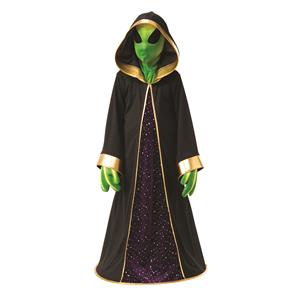 Alien Space Creature Robe Boys Costume Large