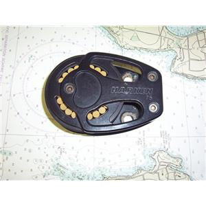 "Boaters' Resale Shop of TX 1909 0452.07 HARKEN 3234 ""BLACK MAGIC"" FOOT BLOCK"