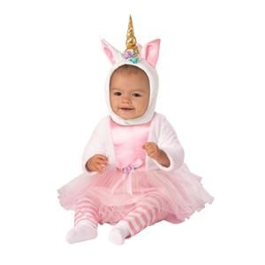 Pink Mythical Unicorn Princess Costume Toddler 12-24 months