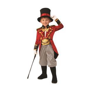 Ringmaster Child Circus Lion Tamer Costume Medium 8-10