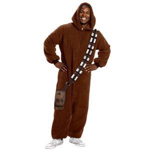 Star Wars Chewbacca Jumpsuit Pajama Costume Small