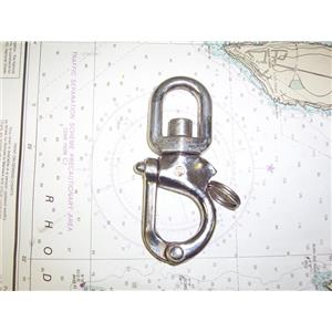 "Boaters' Resale Shop of TX 1909 0452.21 MERRIMAN 4-1/2"" SWIVEL SNAP SHACKLE"