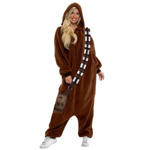 Star Wars Chewbacca Jumpsuit Pajama Costume X-Large