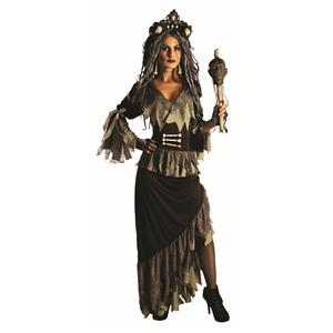 Wicked Witchy Doctor Gothic Voodoo Princess Costume