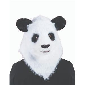 Panda Bear Moving Mouth Jaw Costume Mask