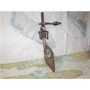 Boaters' Resale Shop of TX 1909 4251.21 VINTAGE CENTURY THOROUGHBRED RUDDER RIG
