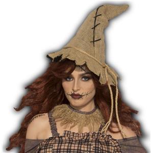 Burlap Scarecrow Costume Hat