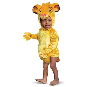Disney Baby Boy Lion King Simba Child Costume Infant 6-12 Months