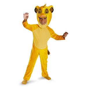 Disney Lion King Classic Simba Costume Large 4T-6T