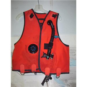 Boaters' Resale Shop of TX 1908 2721.42 SCUBAPRO SCUBA DIVERS VEST ASSEMBLY