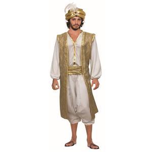 Desert Prince Aladdin Arab King Costume Standard