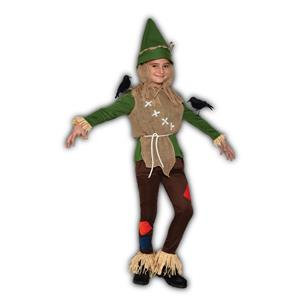 Scarecrow Child Costume Medium 8-10
