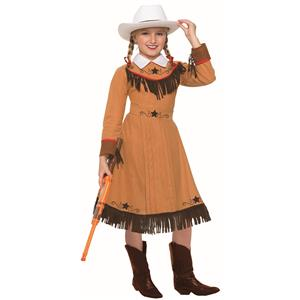Western Texas Rosie Cowgirl Child Costume Medium 8-10