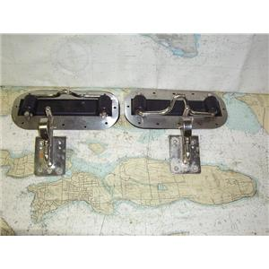 Boaters' Resale Shop of TX 1909 1242.05 WEAVER STAINLESS STEEL DINGHY BRACKETS