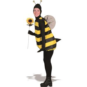 Women's Bumble Bee Costume Black/Yellow,