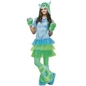 Monster Miss Teen Costume Juniors 0-9