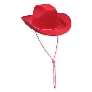 Pink Felt Adult Cowboy Hat