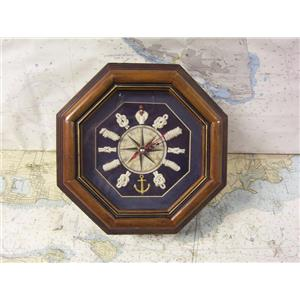 "Boaters' Resale Shop of TX 1909 2122.17 MOBY DICK SPECIALTIES ""KNOT"" CLOCK"