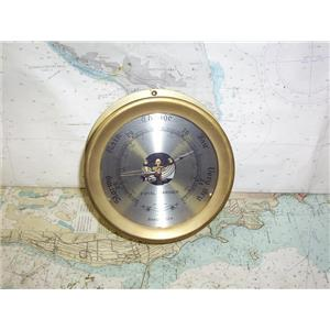 "Boaters' Resale Shop of TX 1909 2122.14 ROYAL MARINER 6.5"" SHIPS BAROMETER"