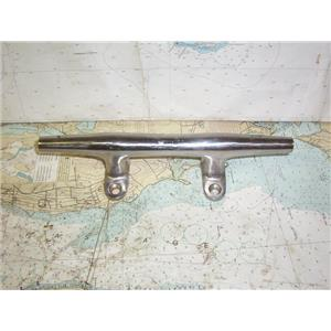 "Boaters' Resale Shop of TX 1909 2422.76 HERESCHOFF 12"" STAINLESS DOCK CLEAT"