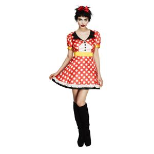 Fever Miss Minnie Mouse Adult Costume Size Small