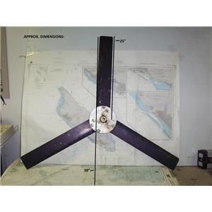 Boaters' Resale Shop of TX 1807 1775.11 WINDBUGGER WIND GENERATOR 3 BLADE PROP