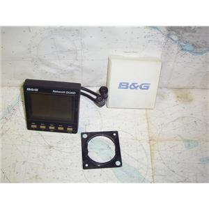 Boaters' Resale Shop of TX 1911 0427.02 B&G NETWORK QUAD DISPLAY WITH SUNCOVER