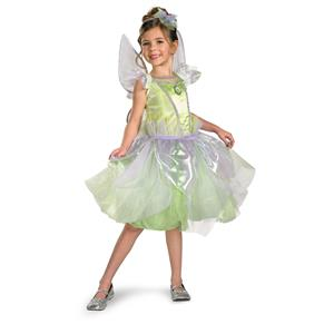 Tinker Bell Disney Peter Pan Green Tutu Dress Costume Size 3T-4T