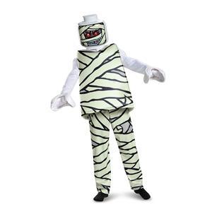 Lego Mummy Deluxe Boys Costume Small 4-6