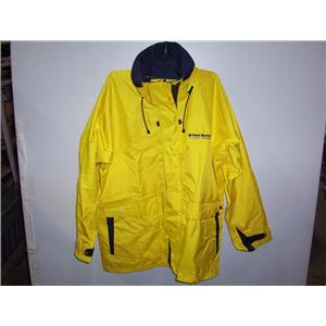 Boaters' Resale Shop of TX 1911 0577.07 WEST MARINE LARGE FOUL WEATHER JACKET